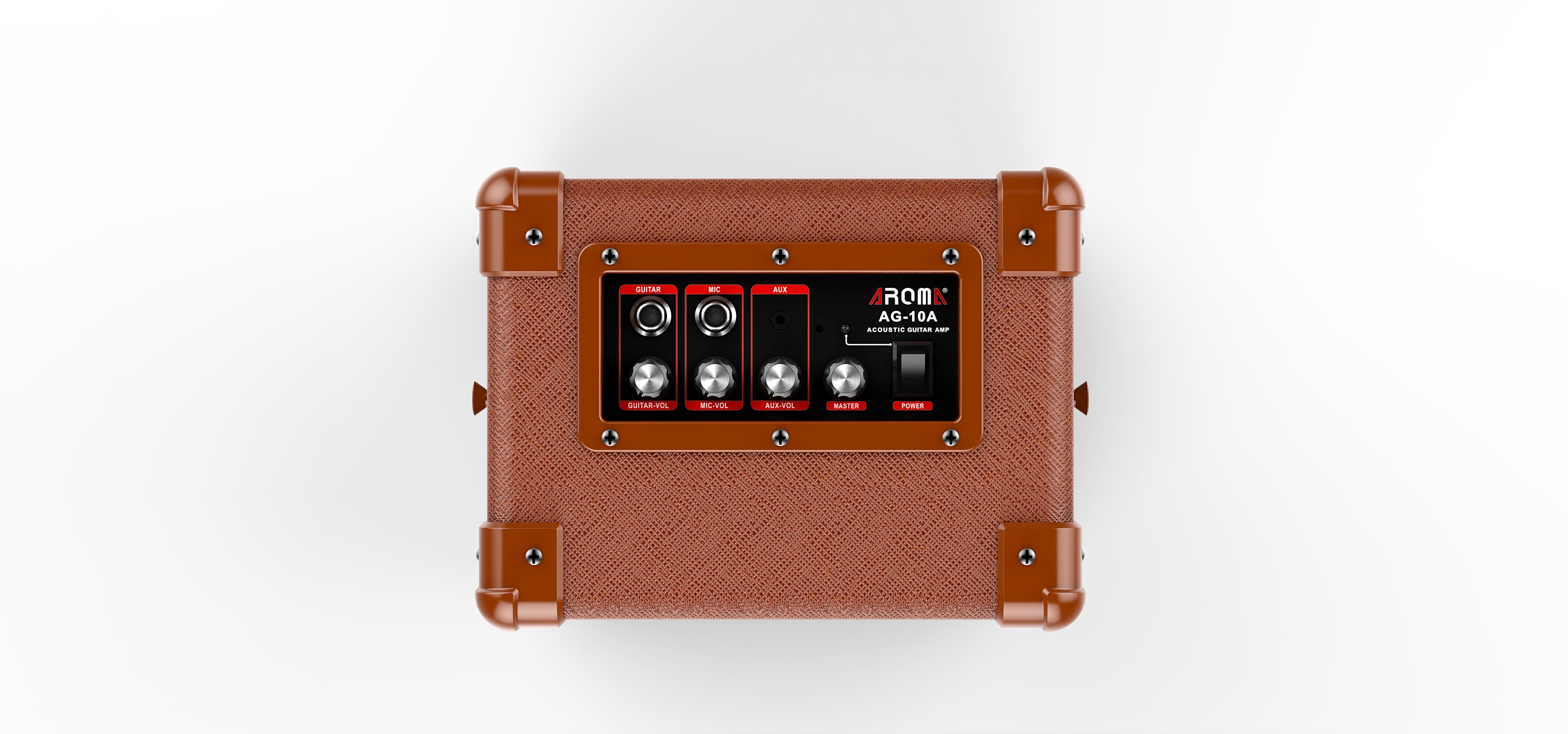 AROMA AG-10A 10 WATTS AMPLIFIER FOR ACOUSTIC GUITAR