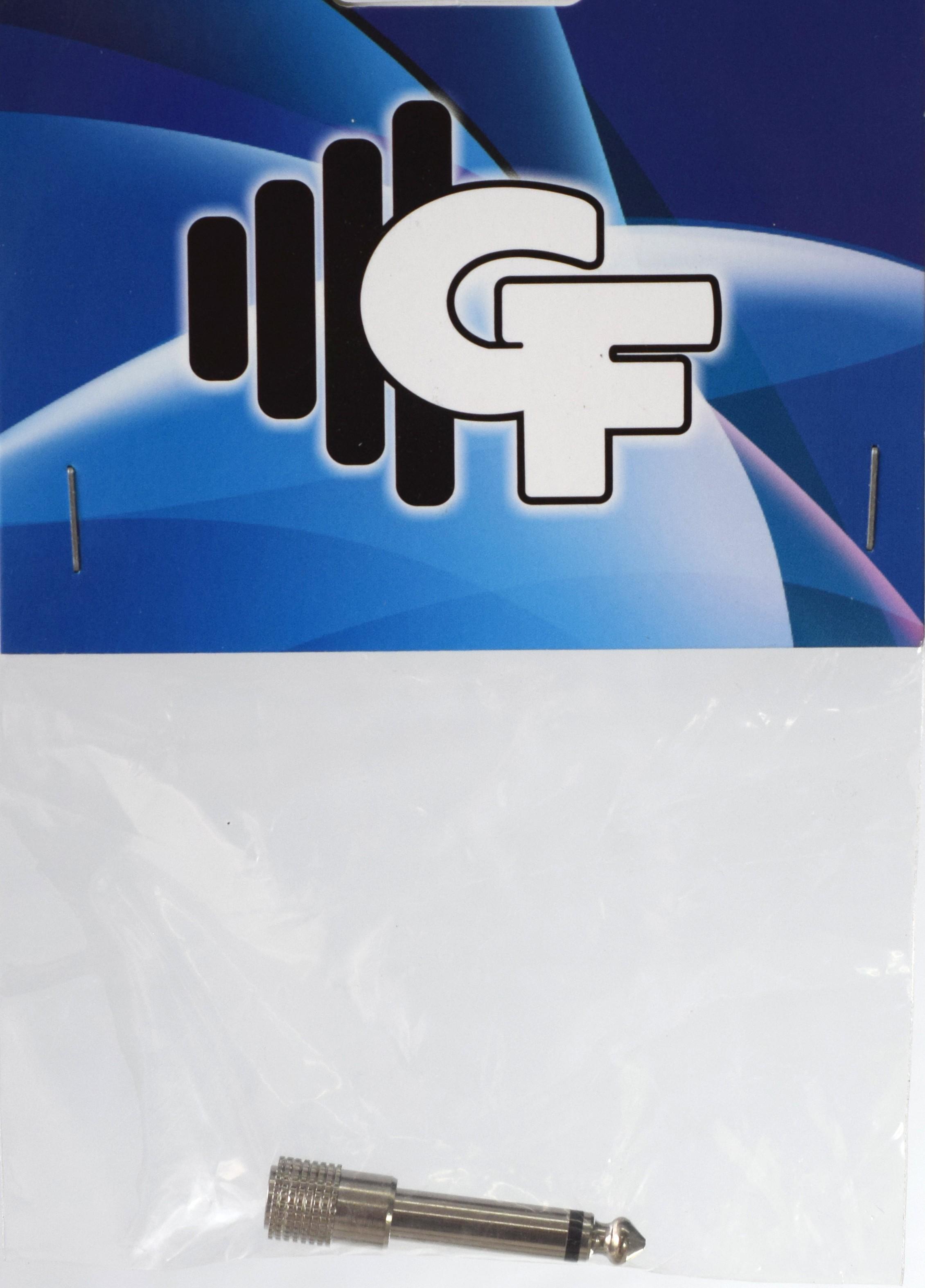 GRF CONNECTOR TRANSFORMER - 1/8 FEMALE X 1/4 MALE