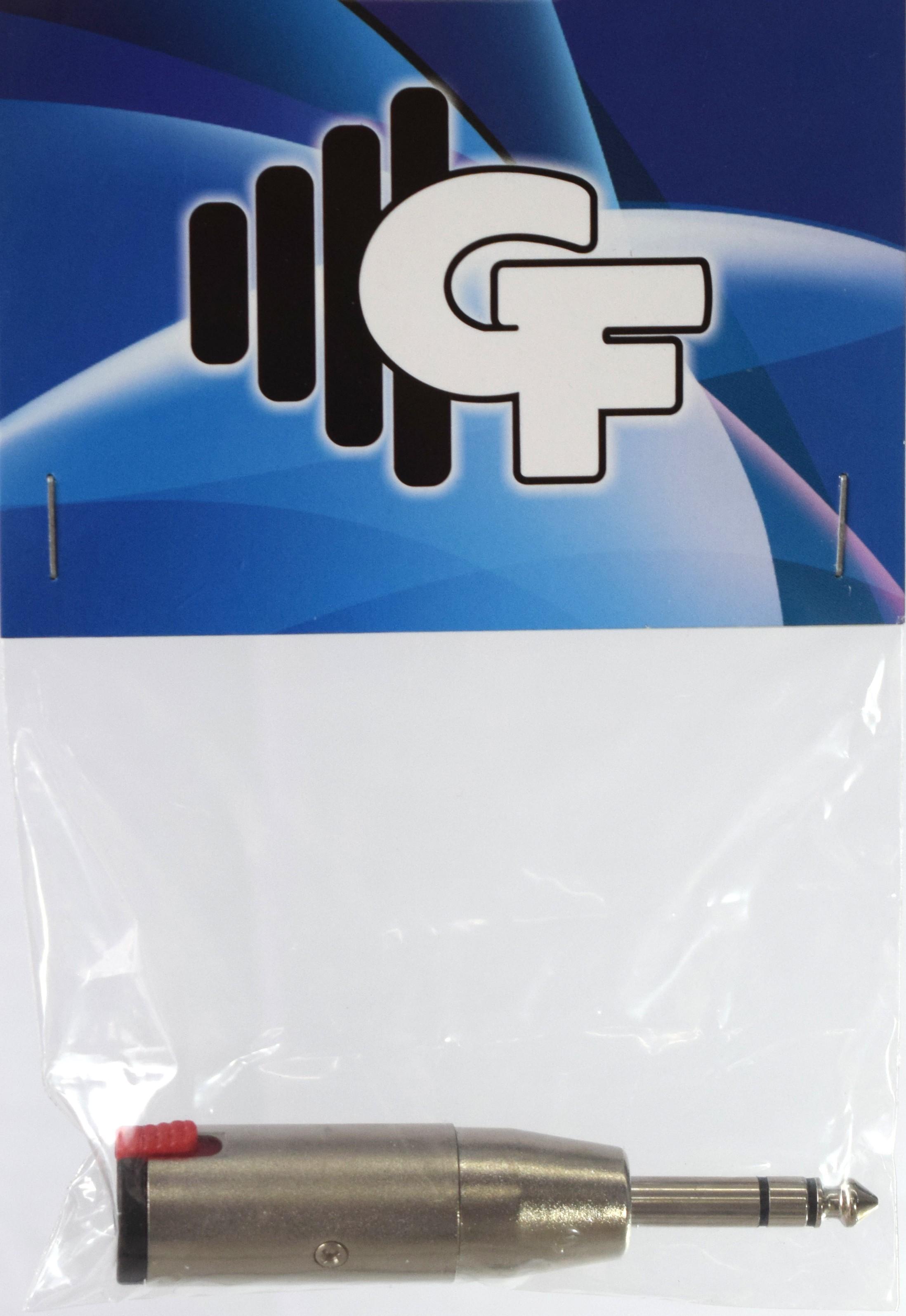 GRF CONNECTOR TRANSFORMER - 1/4 FEMALE MONO X 1/4 MALE STEREO