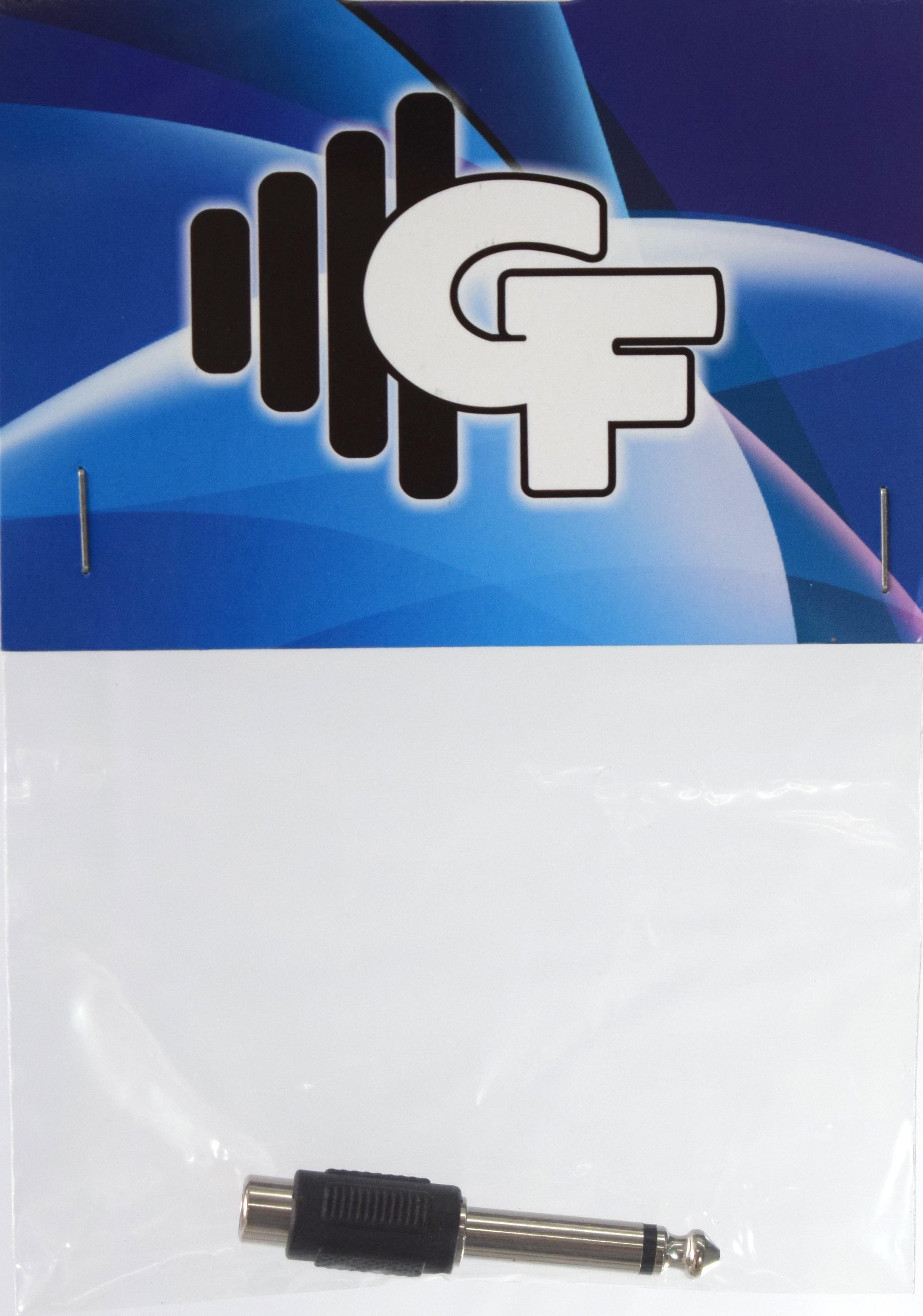 GRF CONNECTOR TRANSFORMER - RCA FEMALE X 1/4 MALE MONO