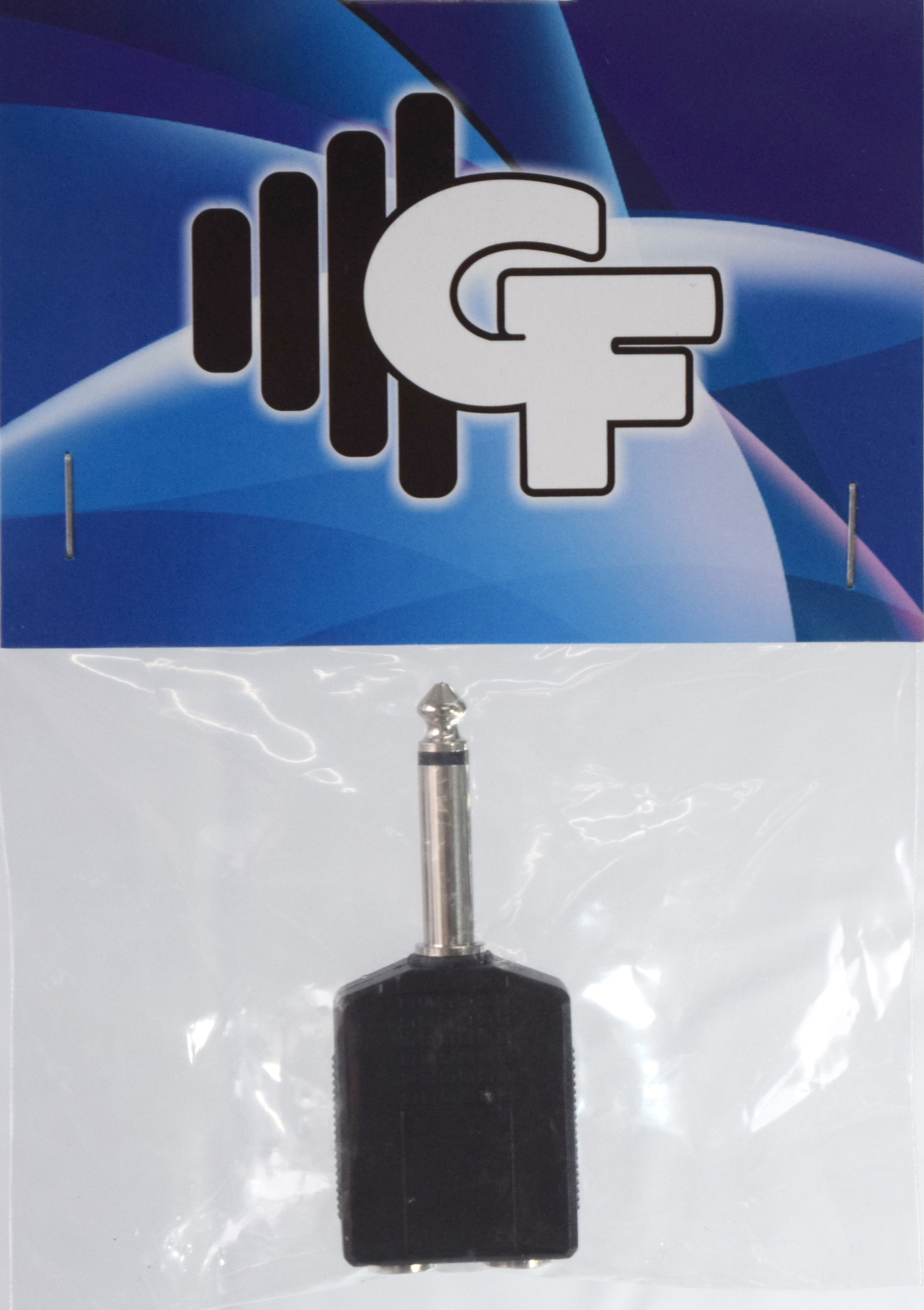 GRF COUPLER TRANSFORMER - 1/4 FEMALE (2X) X 1/4 MALE MONO
