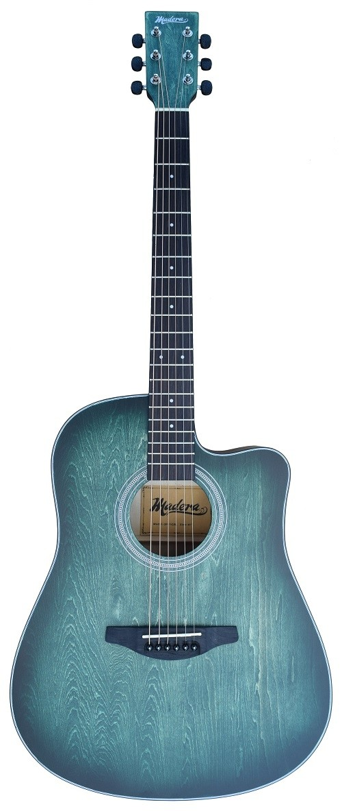 ACOUSTIC MADERA OP411C HAND-RUBBED BODY FINISH INTO AQUATICA-BLUE
