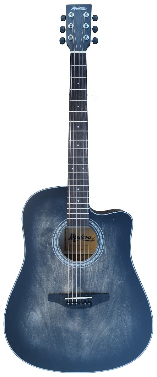 ACOUSTIC MADERA OP411C HAND-RUBBED BODY FINISH INTO BLACK