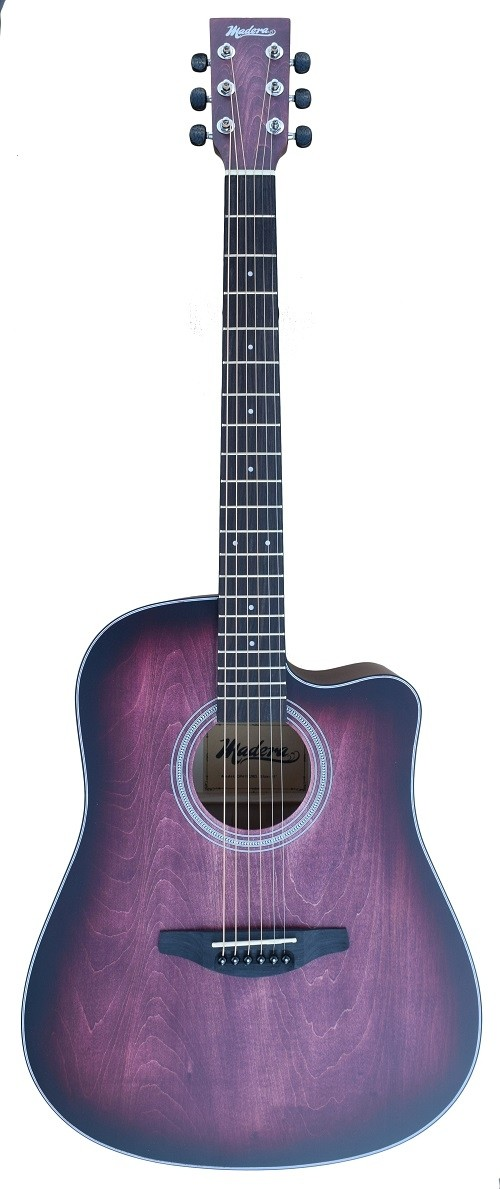 ACOUSTIC MADERA OP411C HAND-RUBBED BODY FINISH INTO RED