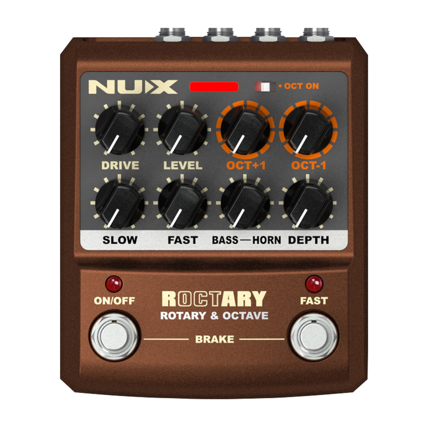 NUX ROCTARY PEDAL - POLYPHONIC OCTAVE EFFECTS