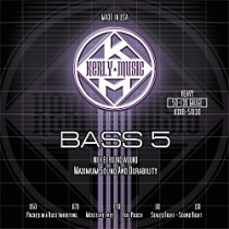 KERLY KUES - 5 STRING BASS STRINGS - KQXB-50-130 - HEAVY