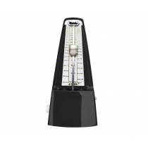 AROMA AM-707 MECHANICAL METRONOME IN BLACK