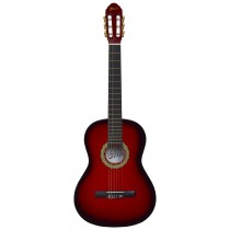 ADAGIO 39'' FULL SIZE CLASSICAL GUITAR IN RED BURST