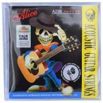 ALICE ACOUSTIC GUITAR STRINGS - PHOSPHOR BRONZE - 11-52 GAUGE