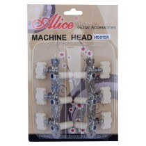 ALICE AFD-017CP MACHINE HEAD SET FOR CLASSICAL GUITAR - SHORT CONFIGURATION