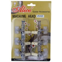 ALICE AFD-018CP MACHINE HEAD SET FOR CLASSICAL GUITAR - LONG CONFIGURATION