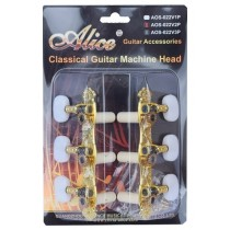 ALICE AOS022V1P MACHINE HEAD SET FOR CLASSICAL GUITAR - ZINC ALLOW PLATED