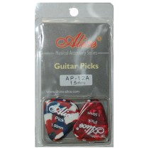 ALICE AP12A GUITAR PICKS - PACK OF 12 (.150)
