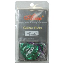 ALICE AP12A GUITAR PICKS - PACK OF 12 (.046)