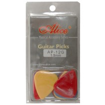 ALICE AP12G GUITAR PICKS - PACK OF 12 (.150)