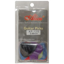 ALICE AP12G GUITAR PICKS - PACK OF 12 (.096)