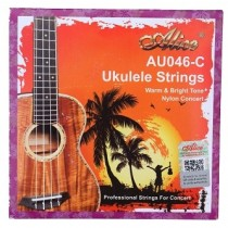 ALICE BLACK NYLON UKULELE STRINGS - CONCERT