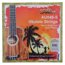 ALICE BLACK NYLON UKULELE STRINGS - SOPRANO