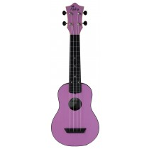 ALOHA ABS10 ROUNDBACK SOPRANO UKULELE - LIGHT PURPLE