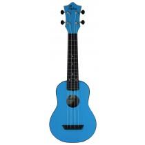 ALOHA ABS10 ROUNDBACK SOPRANO UKULELE - BLUE