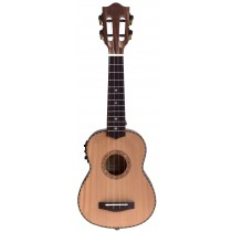 ALOHA SS8500E SOPRANO UKULELE WITH PICKUP