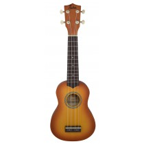 ALOHA UK400 SOPRANO UKULELE - HONEYBURST