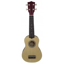 ALOHA UK400 SOPRANO UKULELE - NATURAL