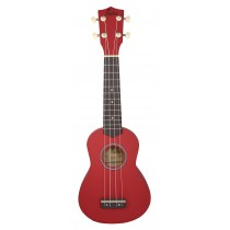 ALOHA UK400 SOPRANO UKULELE - RED