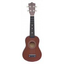 ALOHA UK402 SOPRANO UKULELE - COFFEE
