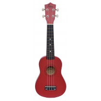 ALOHA UK402 SOPRANO UKULELE - RED