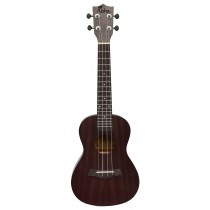 ALOHA SK600OP CONCERT UKULELE - OPEN PORE FINISH - BLACK