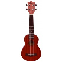 ALOHA SK600OP SOPRANO UKULELE - OPEN PORE FINISH - REDWOOD