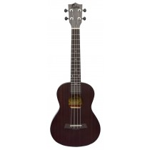 ALOHA SK600OP TENOR UKULELE - OPEN PORE FINISH - BLACK