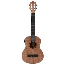 ALOHA FO900E FLAMED OKOUME SERIES UKULELE WITH PICKUP - TENOR