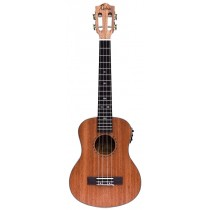 ALOHA SM2400E LEFT HANDED SOLID TOP TENOR UKULELE WITH ACTIVE EQ + TUNER