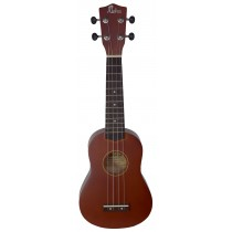 ALOHA UK300 - BROWN SOPRANO UKULELE - GIGBAG INCLUDED