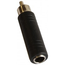 GRF AP13105 1/4 (FEMALE) TO RCA (MALE) ADAPTOR