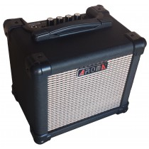 AROMA AG-10  10 WATTS ELECTRIC GUITAR CUBIC AMP IN BLACK