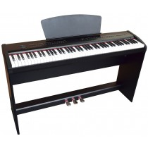 BROADWAY P68 DIGITAL PIANO - BLACK