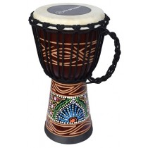 Ecko Indie Series - 40cm Djembe - Candy Design