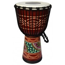 Ecko Indie Series - 50cm Djembe - Candy Design