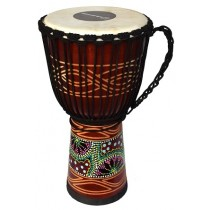 Ecko Indie Series - 60cm Djembe - Candy Design