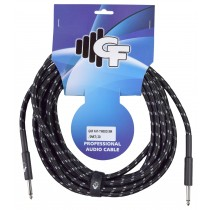 GF TWEED (BLACK) INSTRUMENT CABLE - 20 FEET