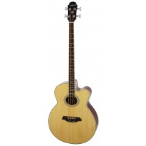 ARIA FEB-30M SPRUCE TOP ACOUSTIC 4-STRING BASS WITH EQ IN NATURAL