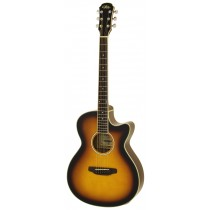 ARIA FET-01STD ELECTRO ACOUSTIC GUITAR IN BROWN SUNBURST