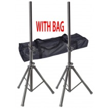 GK PAIR OF SPEAKER STANDS WITH A BAG