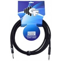 GF TWEED (ALL BLACK) INSTRUMENT CABLE - 10 FEET