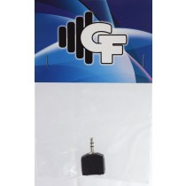 GRF COUPLER TRANSFORMER - (2X) 1/8 FEMALE X 1/8 MALE STEREO