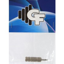 GRF CONNECTOR TRANSFORMER - 1/4 FEMALE X 1/8 MALE