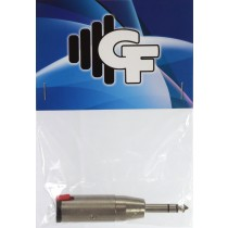 GRF CONNECTOR TRANSFORMER - 1/4 FEMALE MONO X 1/4 MALE STEREO